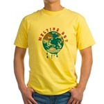 Earth Day ; Melting hot earth Yellow T-Shirt