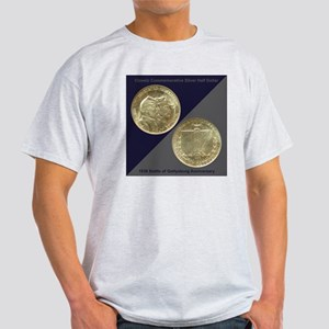 Battle of Gettysburg Half Dollar Coi Light T-Shirt