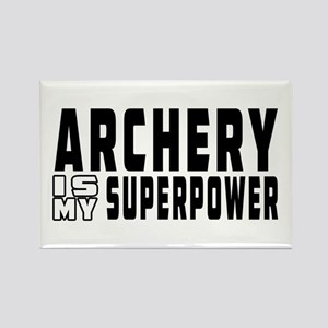 Archery Is My Superpower Rectangle Magnet