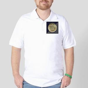 Battle of Gettysburg Half Dollar Coin  Golf Shirt
