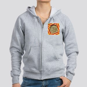 Bridgeport CT Centennial Half D Women's Zip Hoodie