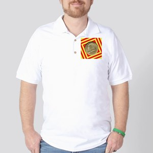 Bridgeport CT Centennial Half Dollar Co Golf Shirt