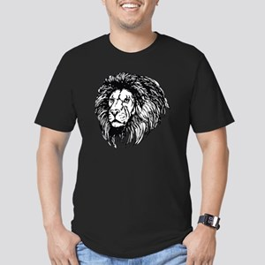 lion - king of the jun Men's Fitted T-Shirt (dark)