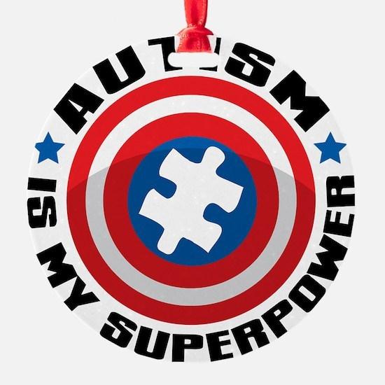 Autism Shield Ornament