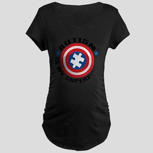 Autism Shield Maternity Dark T-Shirt