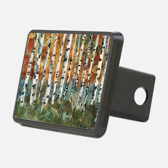 Birch Trees Hitch Cover