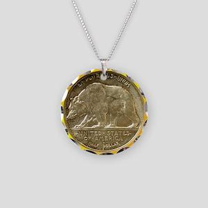 California Diamond Jubilee H Necklace Circle Charm