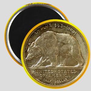 California Diamond Jubilee Half Dollar Coin Magnet