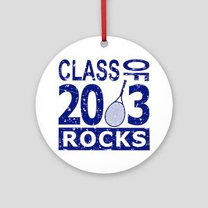 Class Of 2013 Rocks Round Ornament