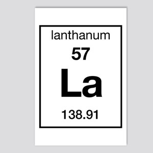 Lanthanum Postcards (Package of 8)