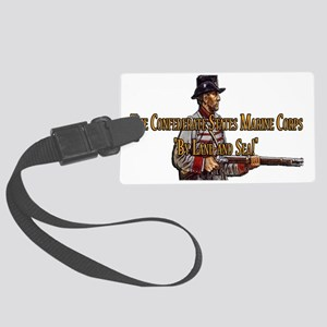 The Confederate States Marine Co Large Luggage Tag