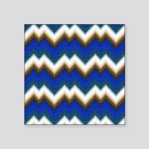 "Abstract Waves Square Sticker 3"" x 3"""