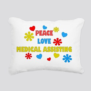 MEDICAL ASSISTANT 6 Rectangular Canvas Pillow