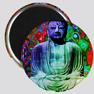 Life Tripping With Buddha Magnet