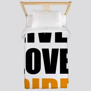 live love ride Twin Duvet