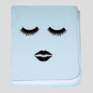 Beautician. Make up artist.Beauty Sal baby blanket