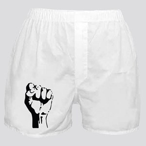 raised fist Boxer Shorts