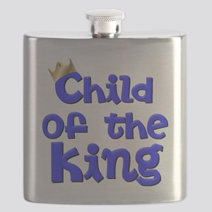Child of the King with Crown - Jesus Christ Flask