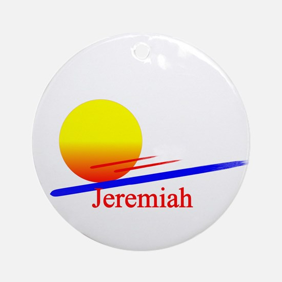 Jeremiah Ornament (Round)