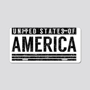 United States of America Aluminum License Plate