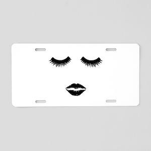 Beautician. Make up artist. Aluminum License Plate