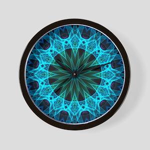 Blue Energy Wall Clock