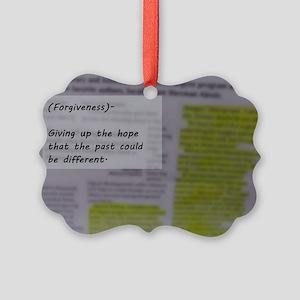 Forgiveness Picture Ornament