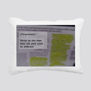 Forgiveness Rectangular Canvas Pillow