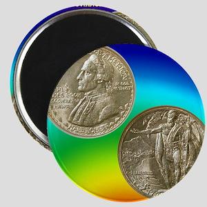 Hawaiian Sesquicentennial Half Dollar Coin Magnet