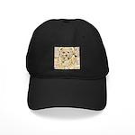 happy little teddy bear Baseball Hat