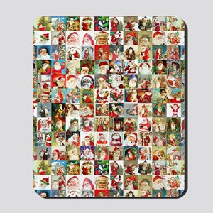 Many Many Santas Mousepad