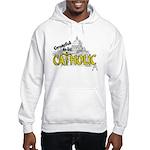 Grateful to be Catholic (Gold) Hooded Sweatshirt