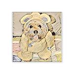 happy little teddy bear Sticker