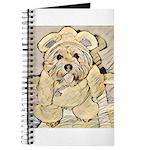 happy little teddy bear Journal