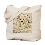 happy little teddy bear Tote Bag