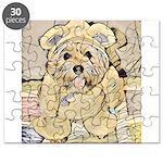 happy little teddy bear Puzzle