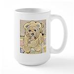 happy little teddy bear Mugs