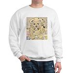 happy little teddy bear Sweatshirt