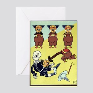 Wizard of Oz Greeting Card