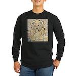 happy little teddy bear Long Sleeve T-Shirt