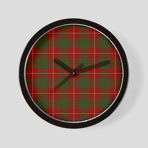 Cameron Modern Tartan Wall Clock