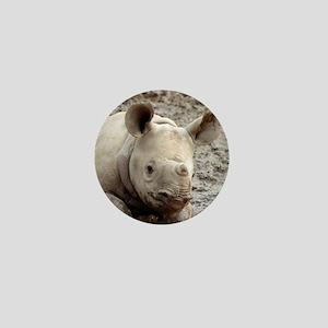 Mud Puppy Mini Button