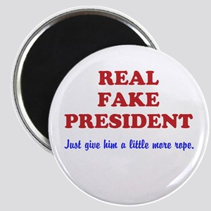 Real Fake President -Rope Magnets
