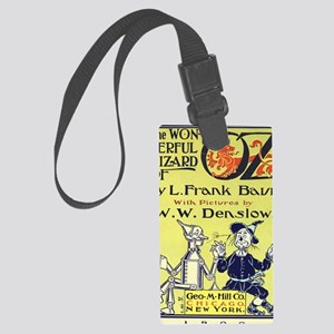 Wizard of Oz Large Luggage Tag