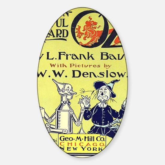 Wizard of Oz Sticker (Oval)