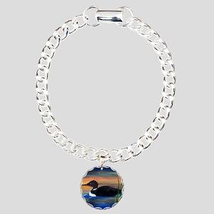 Loon Lake Charm Bracelet, One Charm