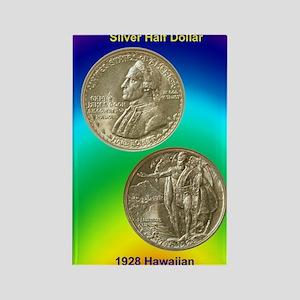 Hawaiian Sesquicentennial Half Do Rectangle Magnet