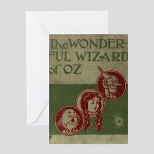 Wizard of Oz Cover Greeting Card