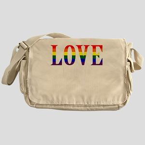 Love is Never Wrong Messenger Bag