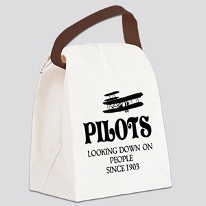 Pilots Canvas Lunch Bag